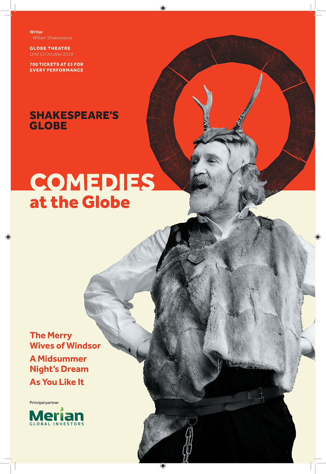Comedies at the Globe TFL poster image