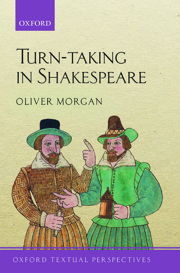 Book cover: Turn-Taking in Shakespeare