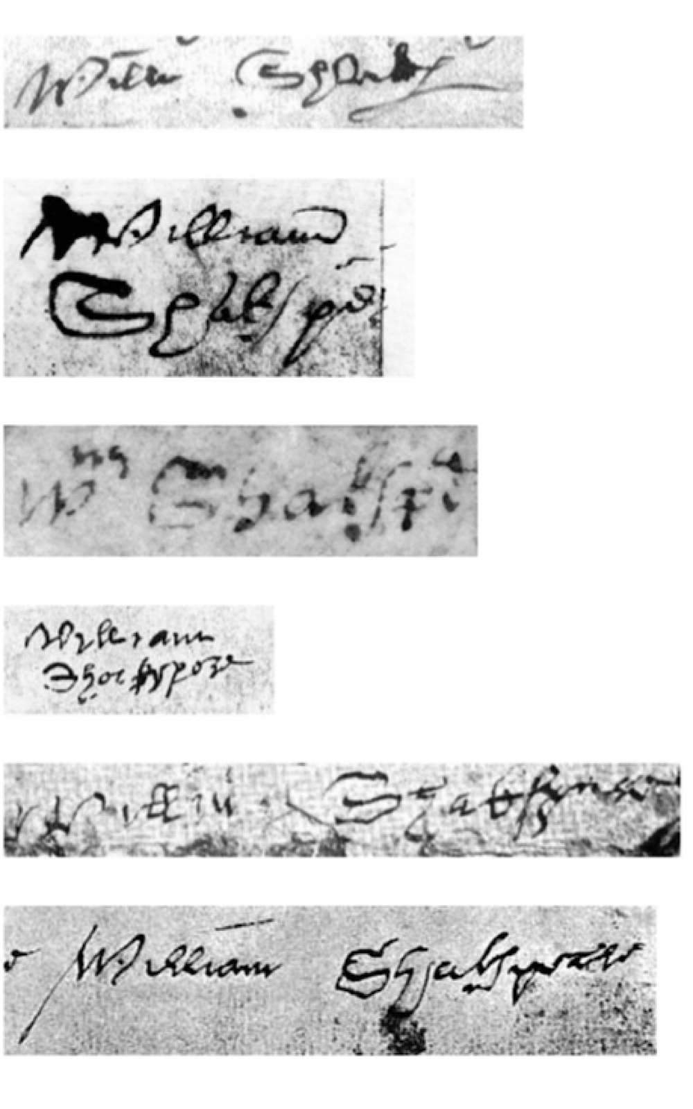 A collage shows six different signatures