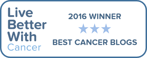 Live Better With Cancer Award Blog
