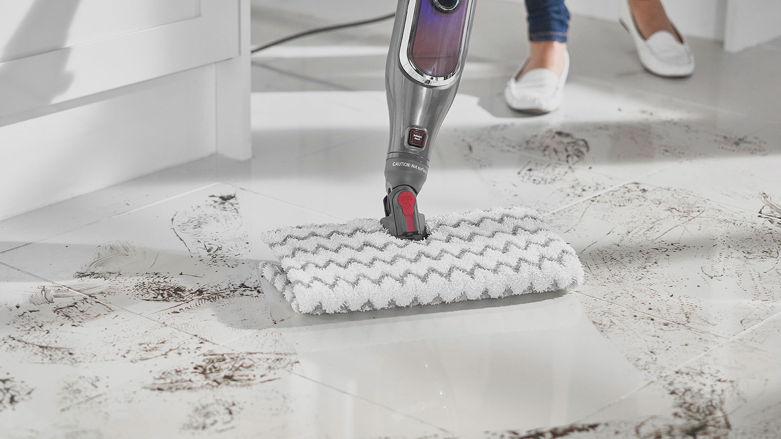 Shark Klik n' Flip Steam Mop for Sealed Hard Floors