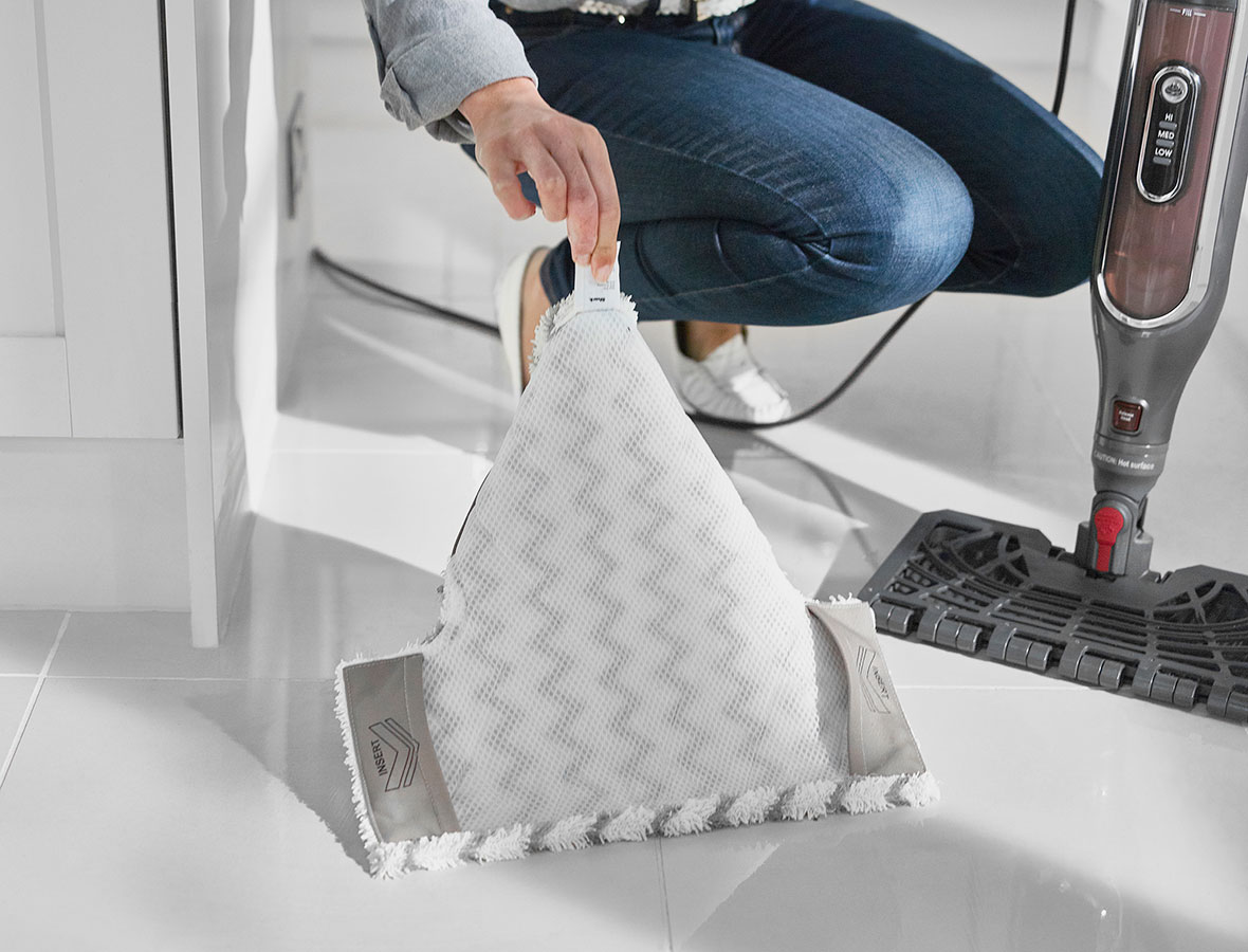 Shark Klik n' Flip Steam Mop with Dirt Grip Pads