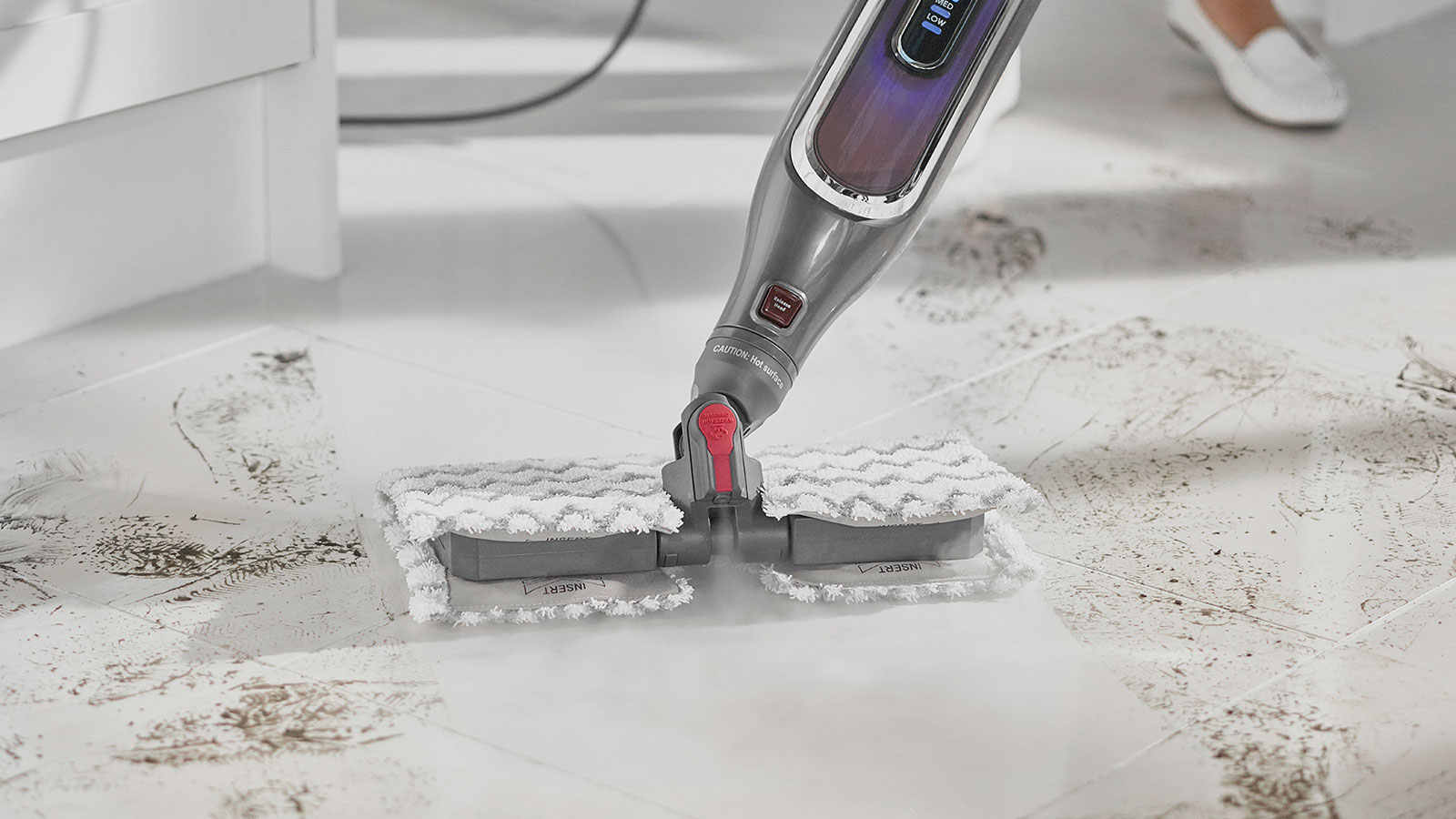 Shark Klik n' Flip Steam Mop with Steam Blaster Mode
