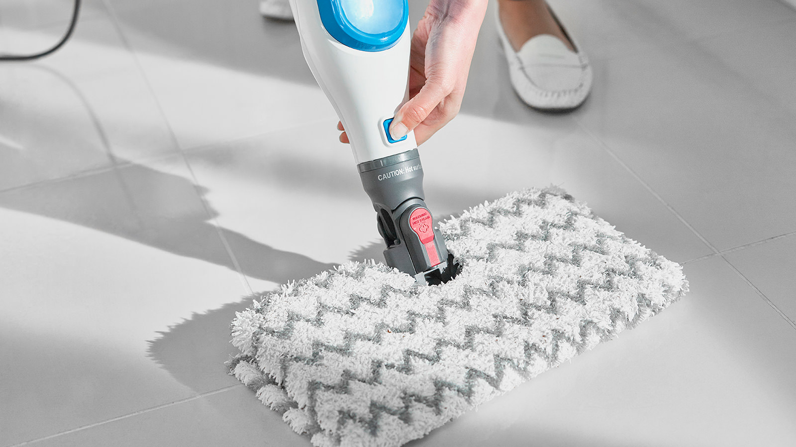 Shark Klik N Flip Manual Steam Mop S6001uk