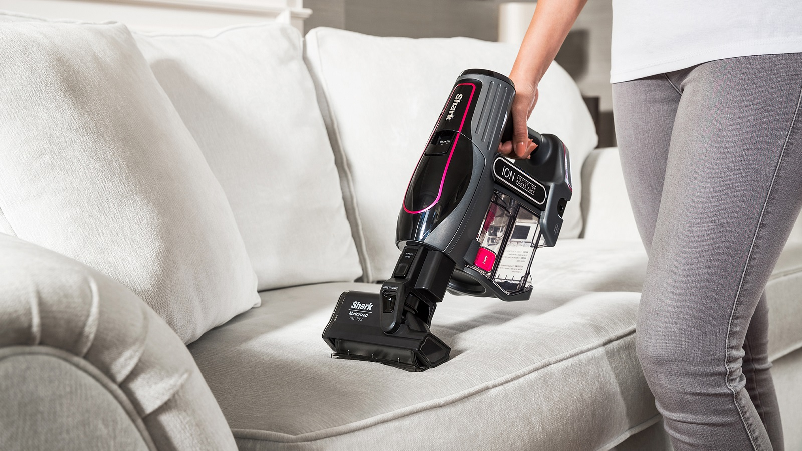 Shark Duoclean Cordless Vacuum Cleaner With Truepet If200ukt