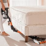 Under Furniture with the Shark Cordless Vacuum Cleaner