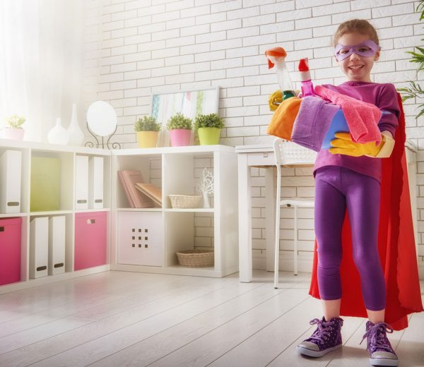 7 Tips for Involving Your Children in the Annual Spring Clean