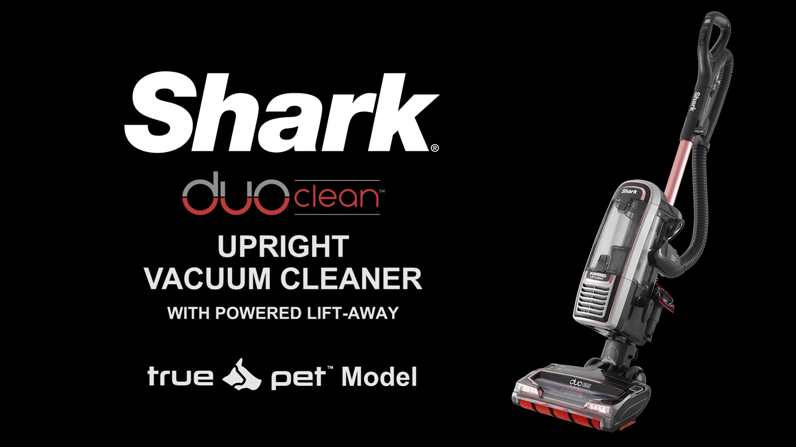 Shark Duoclean Powered Lift Away Plus Pet Vacuum Cleaner