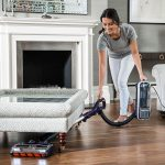 Under Furniture Cleaning with the Shark DuoClean Upright Vacuum Cleaners with Powered Lift-Away AX910UK