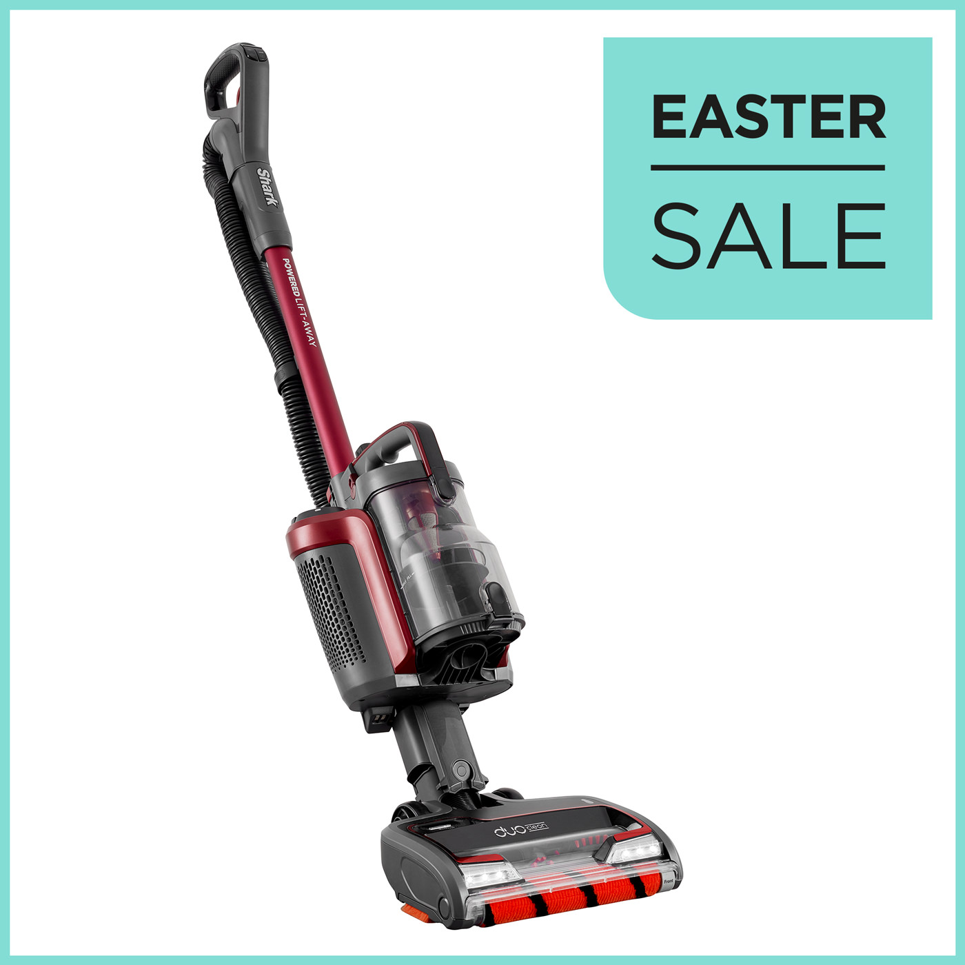 Shark DuoClean Powered Lift-Away Cordless Upright Vacuum Cleaner IC160UKT