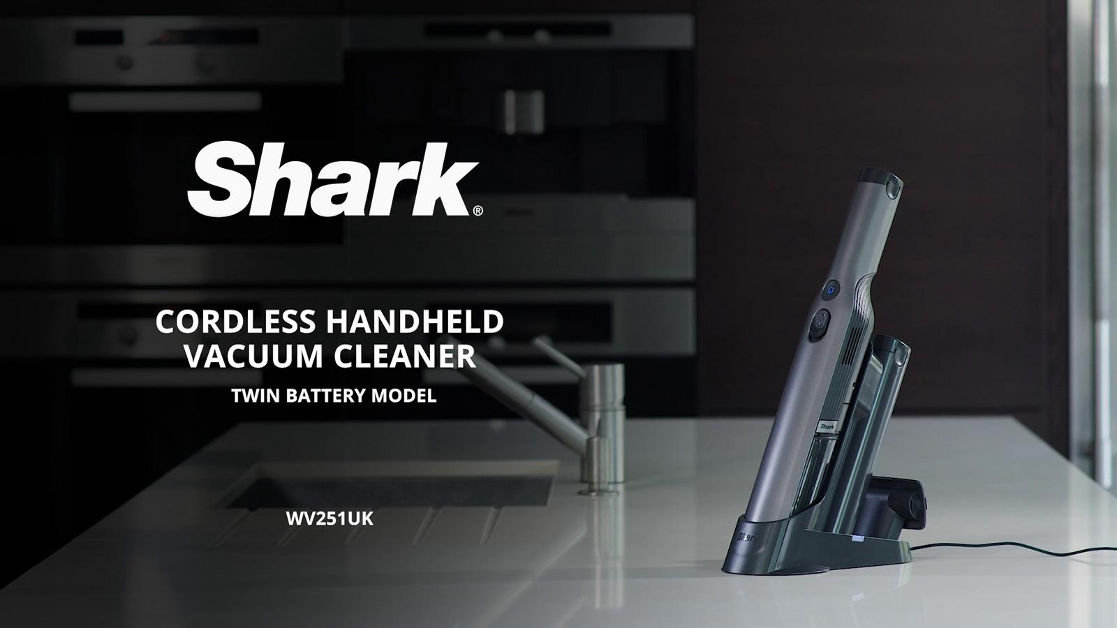 Shark Cordless Handheld Vacuum Cleaner Twin Battery