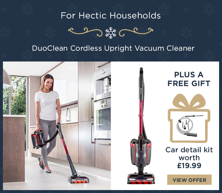Shark DuoClean Cordless Upright Vacuum Cleaner with Powered Lift-Away IC160UK