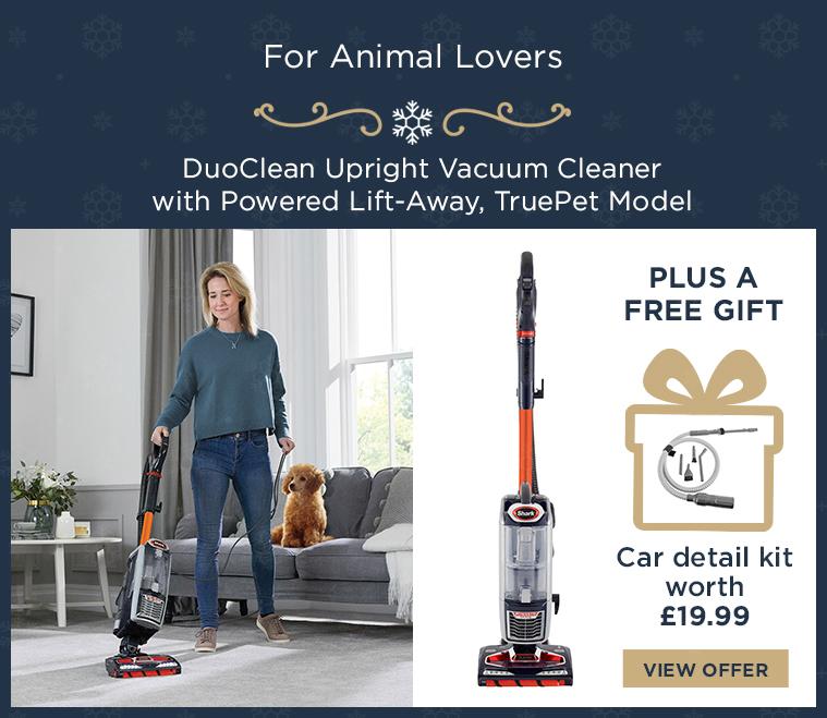 Shark DuoClean Upright Vacuum Cleaner with Powered Lift-Away, TruePet Model NV801UKT
