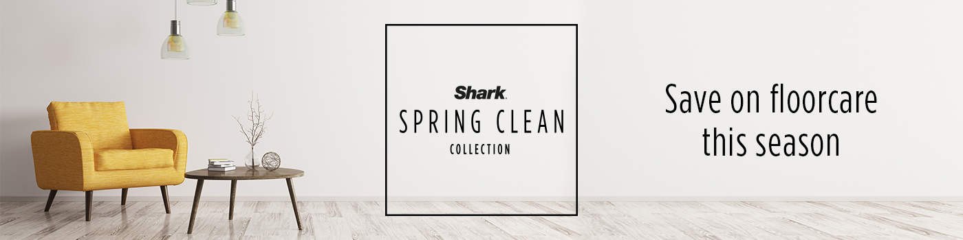 Save on Floorcare this Season with Shark's Spring Clean Collection