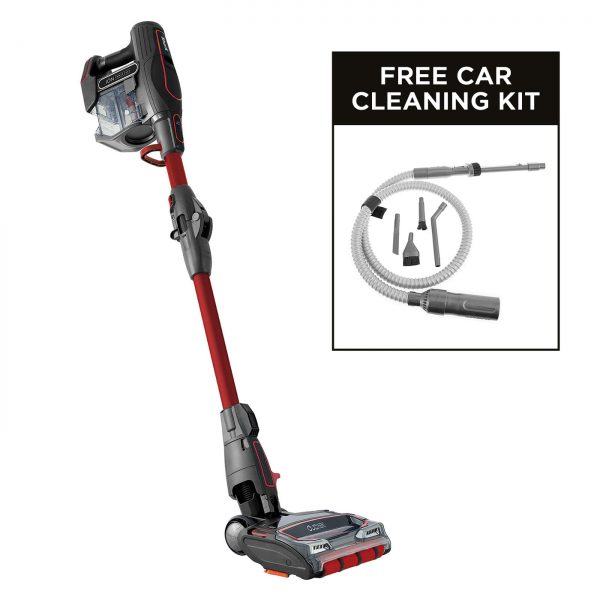 Shark DuoClean Anti-Allergen Cordless Vacuum Cleaner with TruePet [Twin Battery] (includes Car Detailing Kit) IF260UKTH