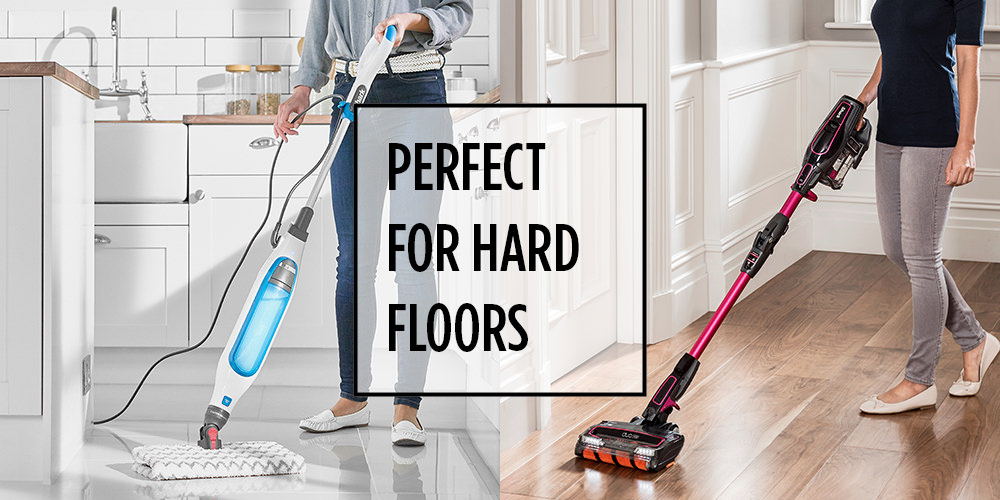 Shark Vacuum Cleaners and Steam Mops for Hard Floors