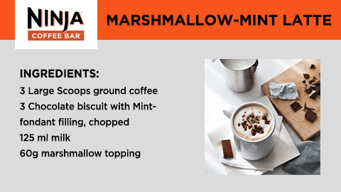 Make Christmas Marshamallow Mint Latte