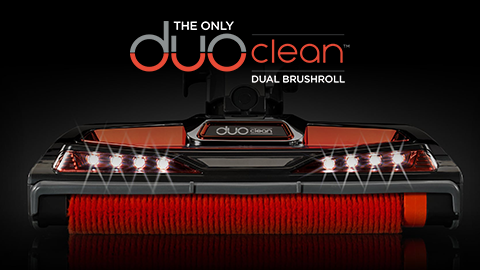 Shark DuoClean Hoover with LED lights