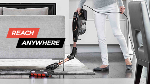 shark vacuum cleaners with under furniture reach