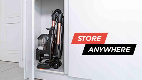 vacuum cleaner compact storage