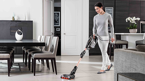 The shark vacuum cleaner with duoclean