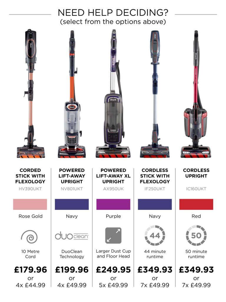 Shark Duoclean Vacuum Cleaner Offers