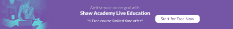 ShawAcademy Limited Time Offer One FREE Course