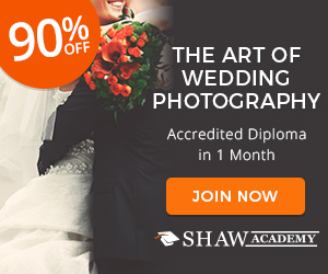 Art of Wedding Photography Shaw Academy
