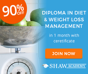 Diploma in Diet and Weight Loss Management Shaw Academy