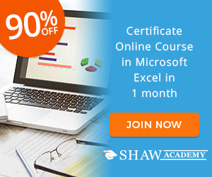 Diploma in Microsoft Excel The Shaw Academy
