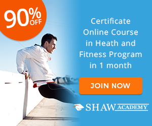 Certified Health and Fitness Course The Shaw Academy