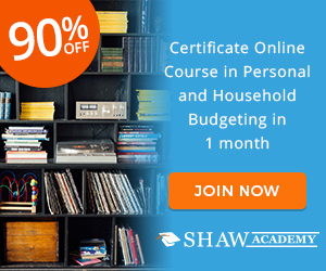 Personal and Household Budgeting Programme Shaw Academy