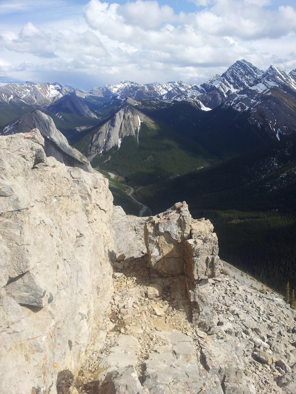 Ještě jednou výhled ze Sulphur Ridge