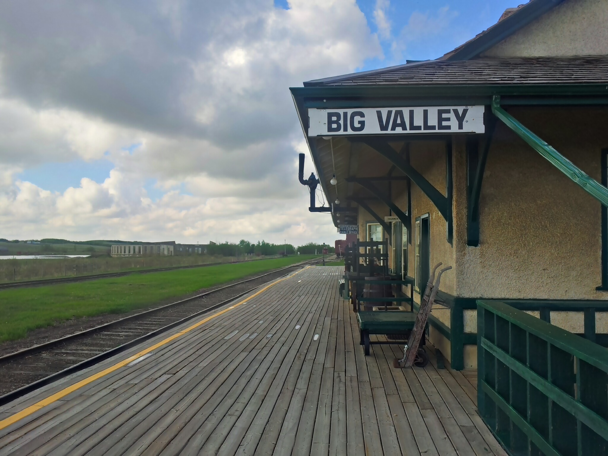 Big Valley train station