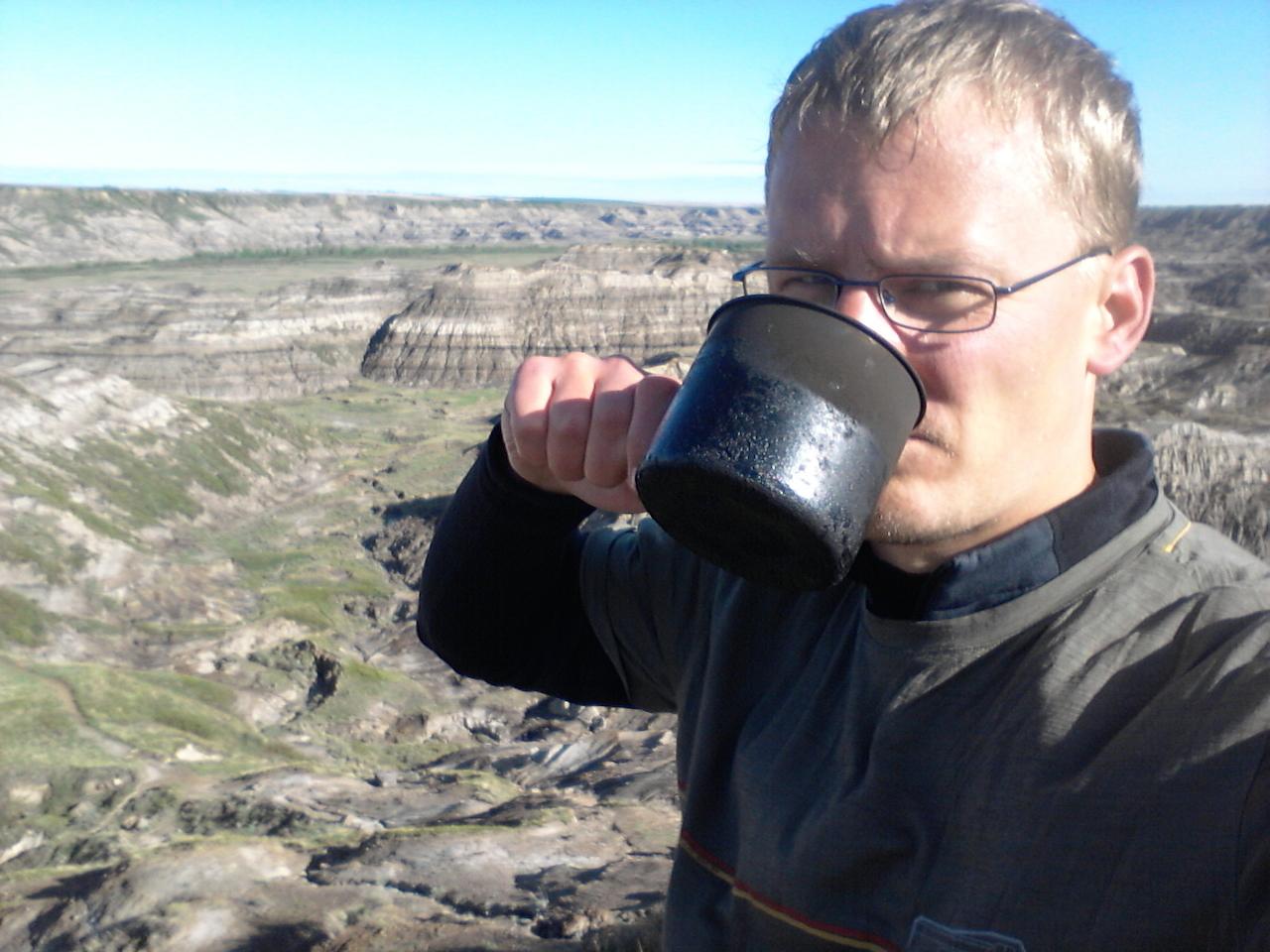 Snídaně @ Horsethief canyon