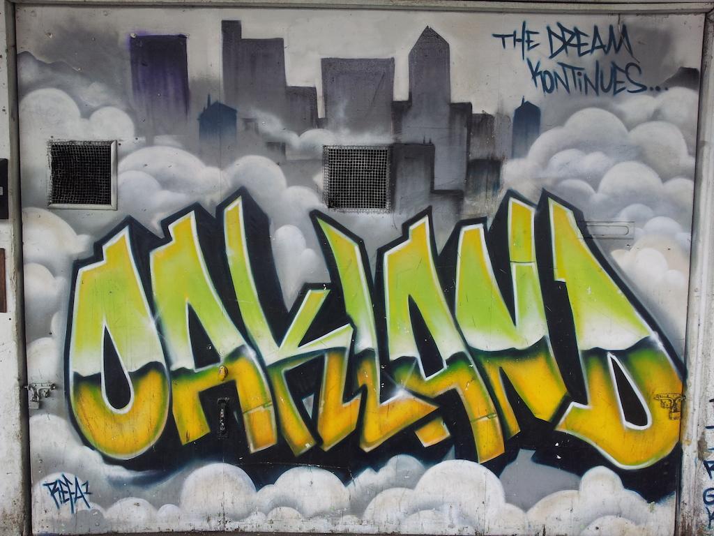 Vítej v Oaklandu, cizinče
