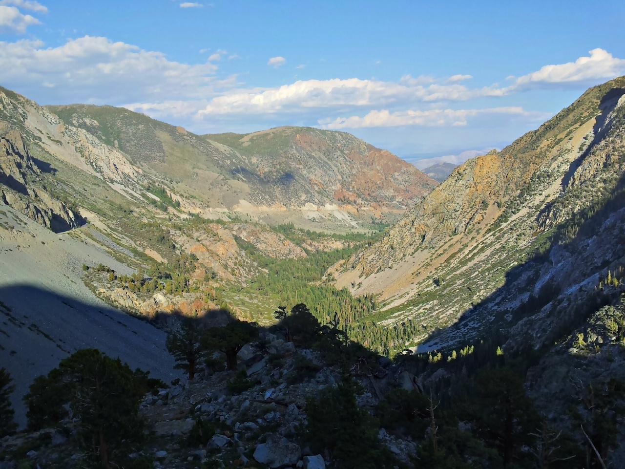 Tioga Pass - na obzoru Nevada