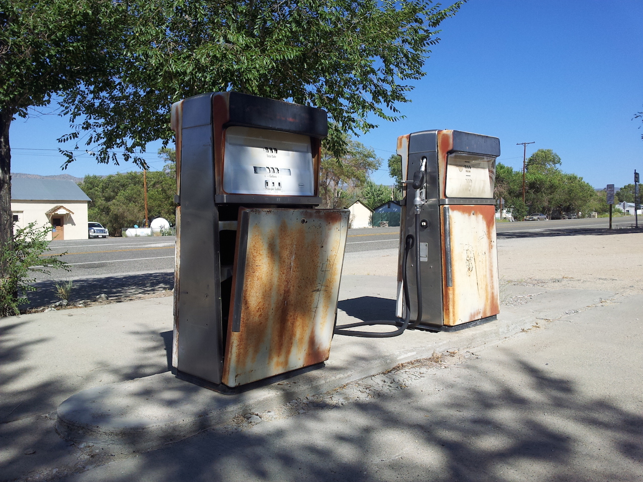 Stará pumpa v Bentonu