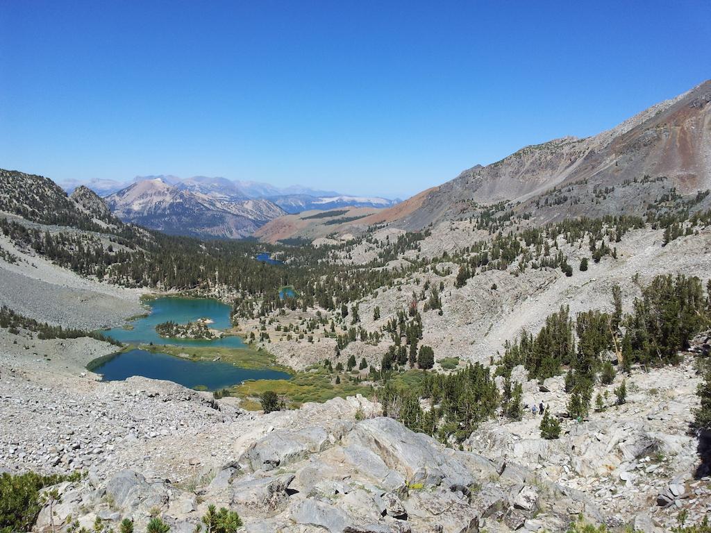 Další jezera, další výhledy