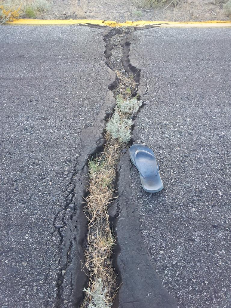 A pak, že jsou u nás hnusný silnice!