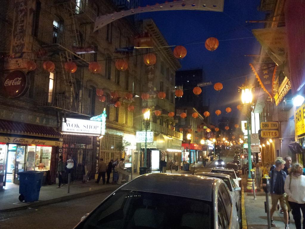 Čínská čtvrť, tudy se prošla nová Godzilla