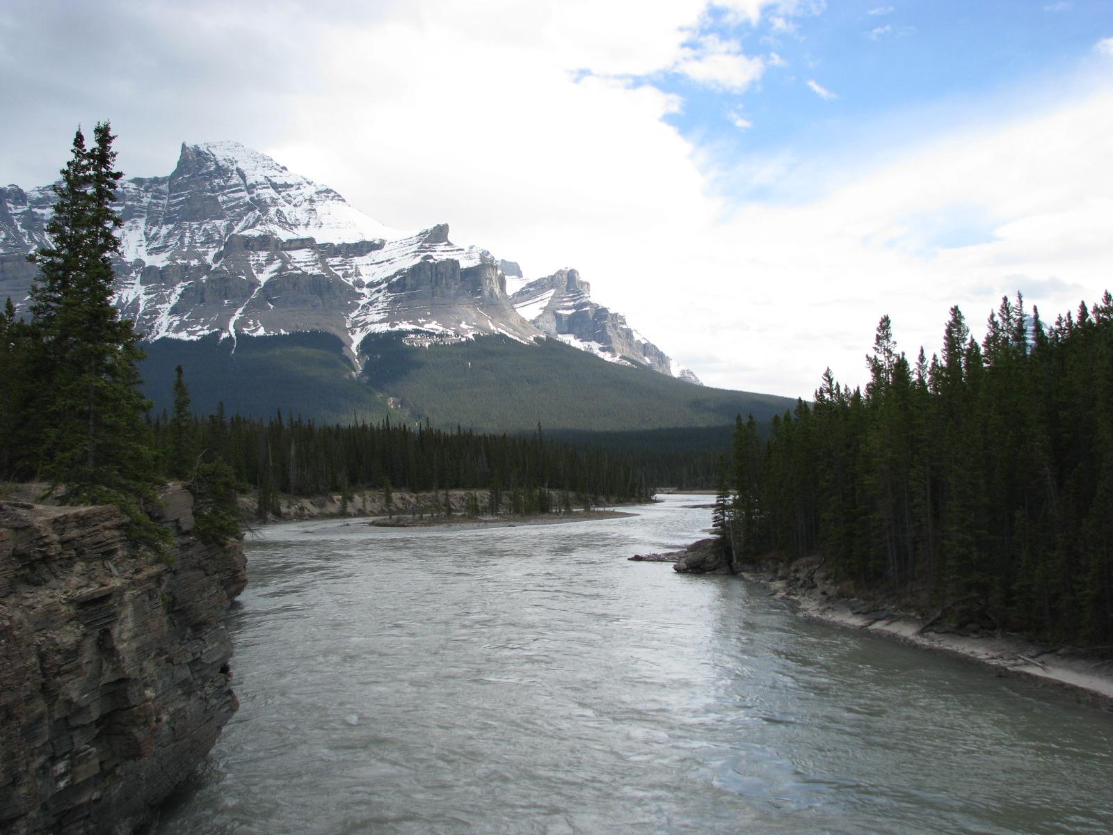 Rapids @ Saskatchewan river crossing