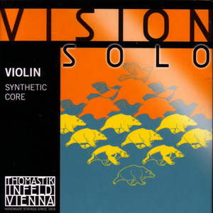 Thomastik Vision  SOLO violin strings SET.