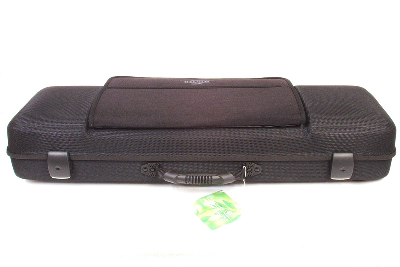 Greenline 'Eco' rectangular violin case by Jakob Winter 3/4 & 4/4