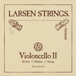Larsen cello string, D, 1/8-3/4 size