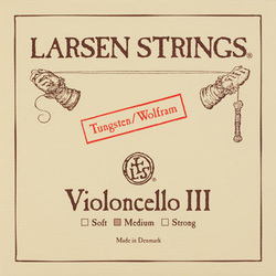 Larsen cello string, G, 1/8-3/4 size