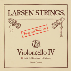 Larsen cello string, C, 1/8-3/4 size