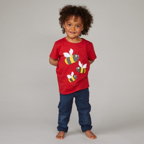 """Kids T-Shirt """"Hummel"""" sommerrot"""