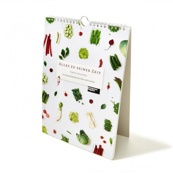"""Saisonkalender """"Alles zu seiner Zeit"""""""