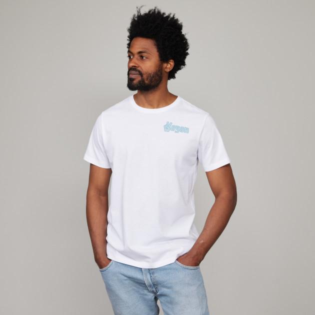"T-Shirt ""Vegan"" weiß"